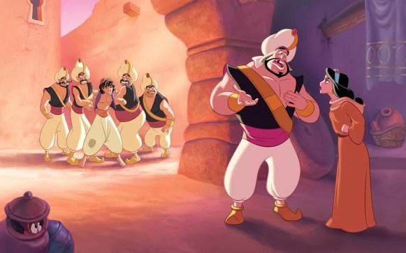 Aladin di tangkap Penjaga Kerajaan