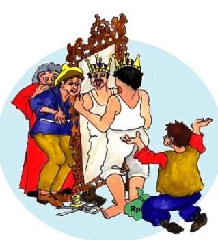 Cerita Dongeng Pendek Raja dan Dua Penipu