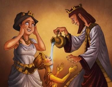 Teks Cerita Rakyat Dunia Raja Emas
