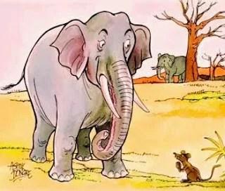 Cerita Rakyat Fabel Dongeng Gajah dan Tikus