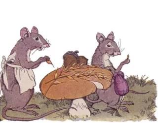 Dongeng Cerita Fabel Anak Tikus yang Sangat Rajin
