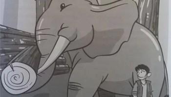 cerita rakyat anak anak Balas Budi Gajah
