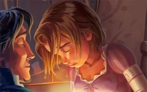 cerita rapunzel dalam bahasa inggris dan artinya