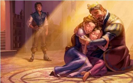 cerita rapunzel bahasa indonesia
