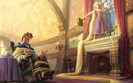 dongeng rapunzel dalam bahasa inggris dan terjemahannya