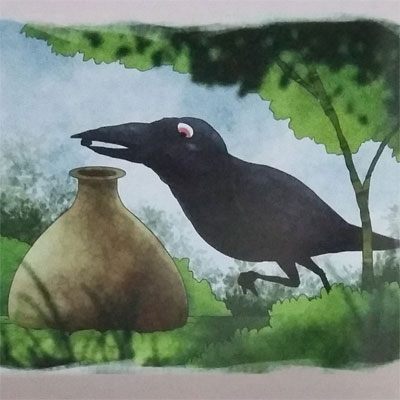 Cerpen Binatang Terbaru - Dongeng Burung Gagak
