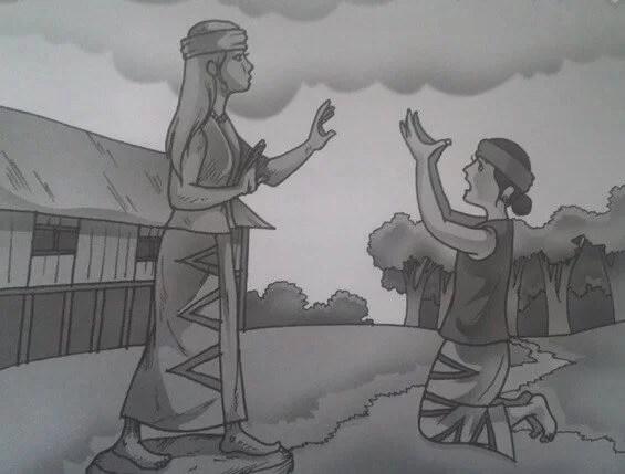 Legenda Nusantara Batu Menangis