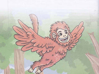 Dongeng Cerita Anak Dunia Monyet Yang Ingin Terbang
