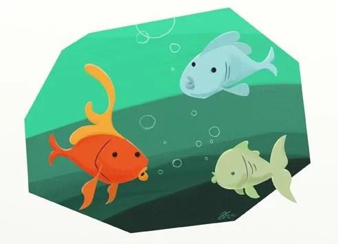 Cerita Dongeng Untuk Anak Kisah Tiga Ikan Mas