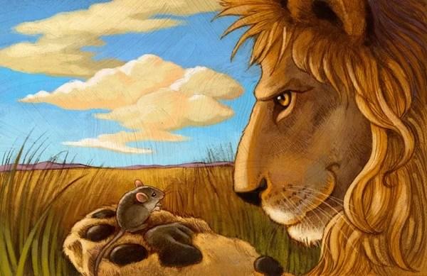 Cerita Pendek Persahabatan Singa Dan Tikus