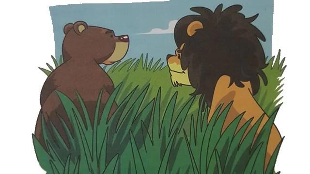Cerita Pendek Untuk Anak Singa dan Beruang