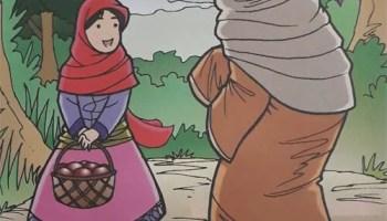 Cerpen Pendek Anak Dongeng Gadis Berkerudung Merah