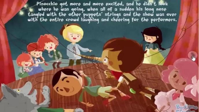 Penonton Menyukai Pinokio
