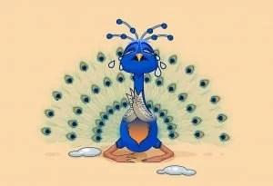 Cerita Inspirasi Merak yang Sedih (The Sad Peacock)