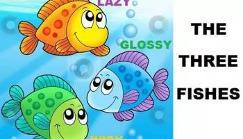 Dongeng Fabel Kisah Tiga Ikan