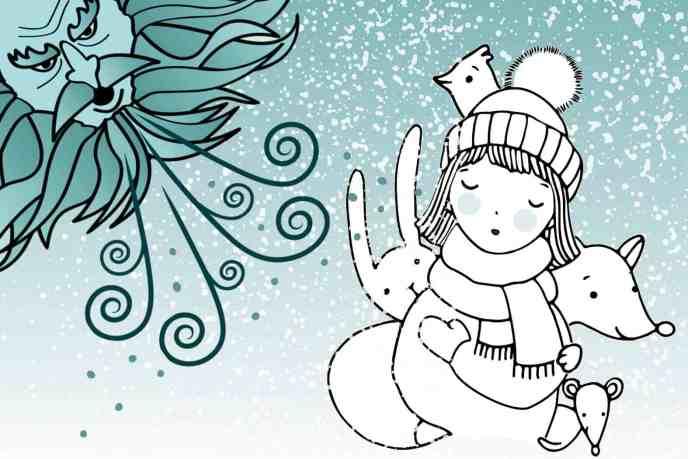 Cerita Rakyat Bulgaria Gadis Kecil dan Angin Puyuh Musim Dingin