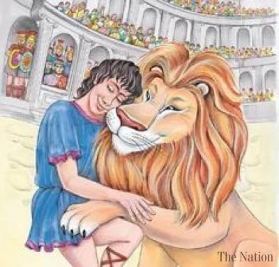 Dongeng Fabel Aesop Androcles dan Singa