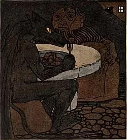 Iblis dan Neneknya Dongeng Cerita Pendek Jerman karya Brothers Grimm