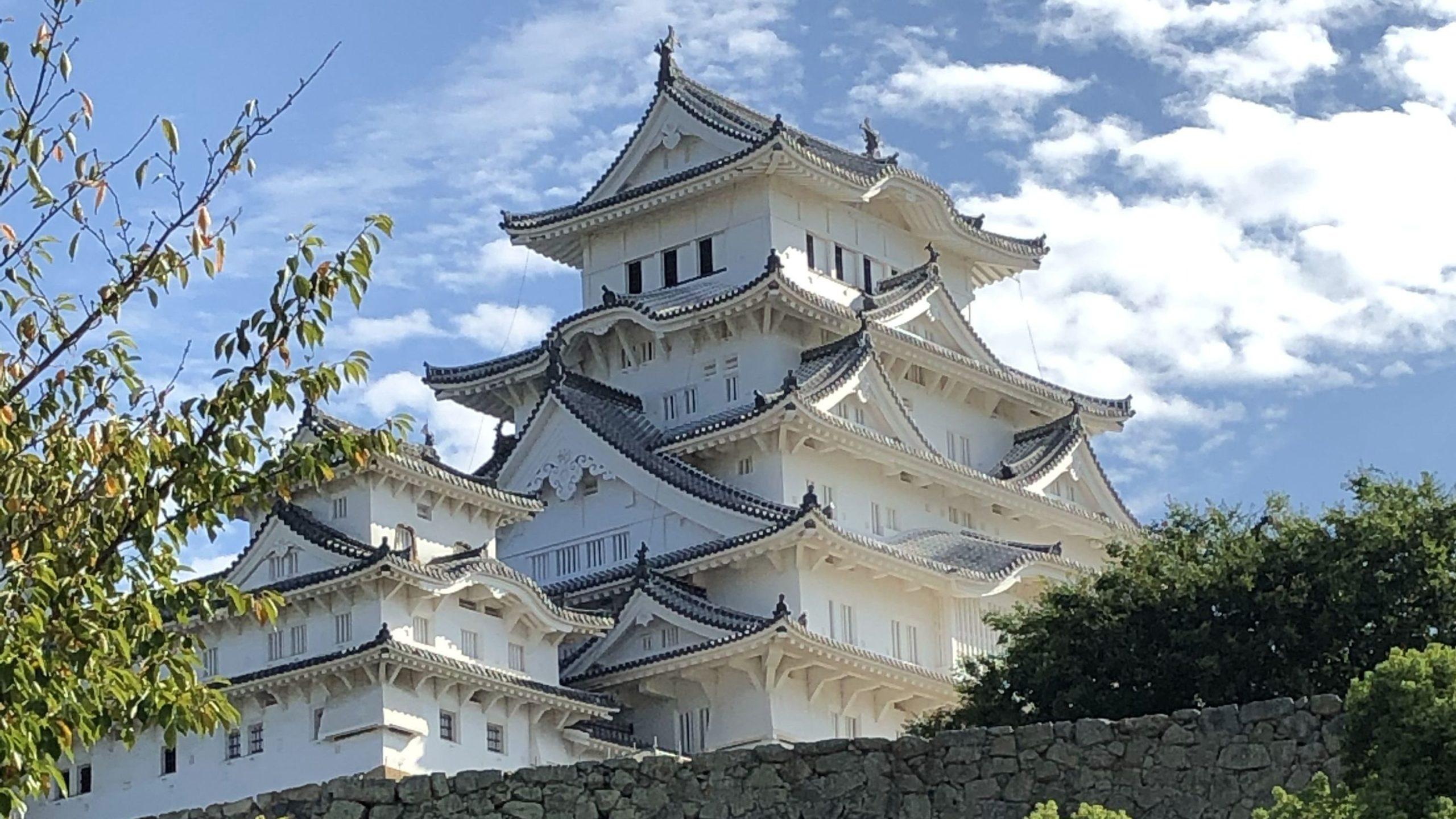 姫路城アップ