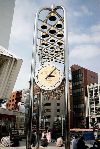5 chiếc đồng hồ ngoài trời độc đáo nhất trên thế giới