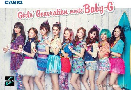 Đồng hồ Casio Baby-G thời trang, cá tính cùng 2 Hot girl Midu và Tâm Tít