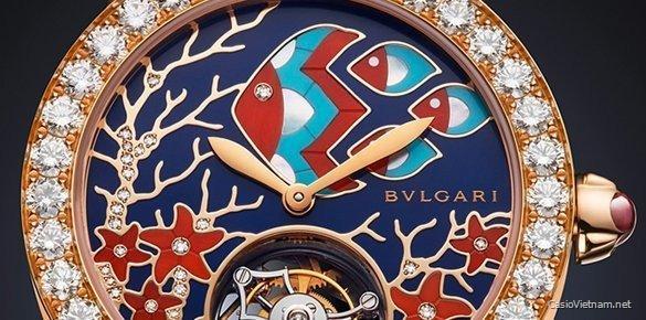 Bulgari ra mắt đồng hồ siêu sang Il Giardino Marino phiên bản giới hạn