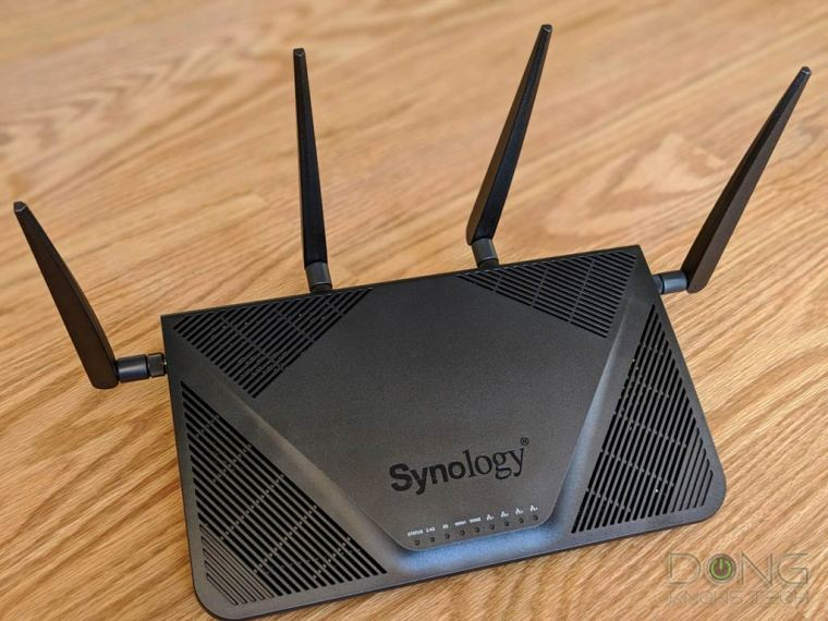 Synology RT2600ac Mesh Wi-Fi Router Review - Dong Knows Tech