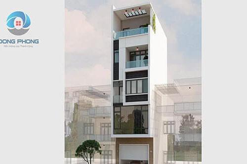 Kiến trúc nhà phố mặt tiền