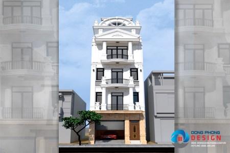 nhà phố tân cổ điển 4 tầng KTNP1128