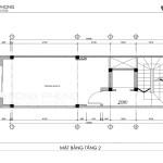 nhà phố tân cổ điển 40m2 4 tầng 1 tum NPCD1301-5