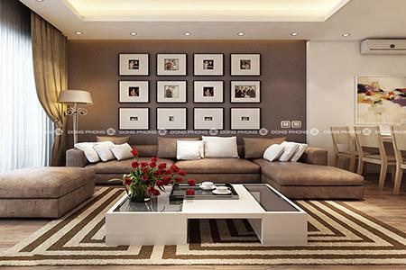 nội thất chung cư linh đàm ntcc1327 đẹp đai diện