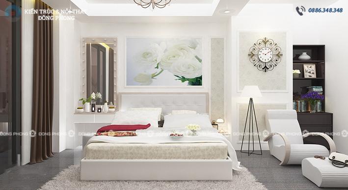 thiết kế nội thất phòng ngủ ntcc1325-11