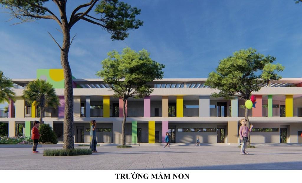 Thiết kế trường mầm non An Bình