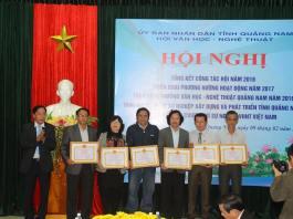 tổng kết hội văn hóa nghệ thuật tỉnh Quảng Nam 2016