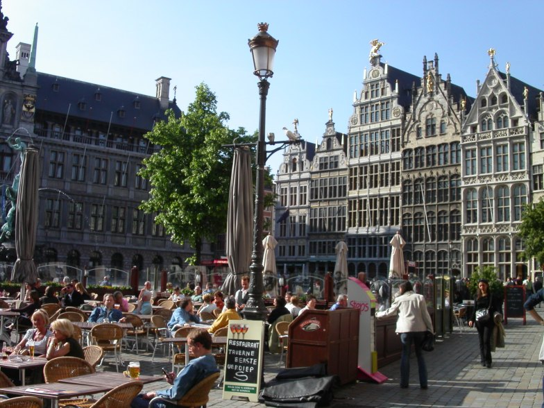 Antwerp Open Air Restaurant