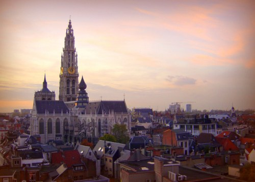 Antwerp - Sunset View