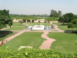 Garden Around Raj Ghat