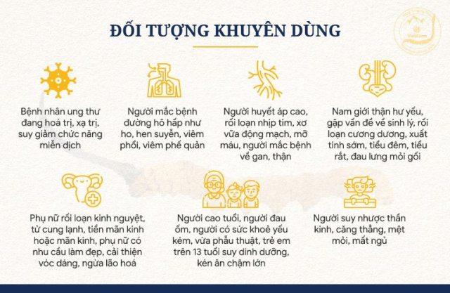 Những đối tượng khuyên dùng sản phẩm đông trùng hạ thảo tự nhiên Tây Tạng