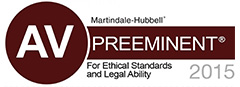 Preeminent for Ethical Standards and Legal Abililty