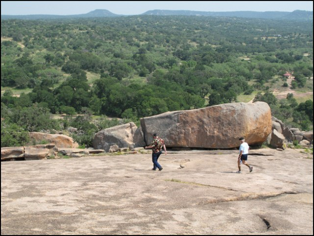 Don and DSF at Enchanted Rock
