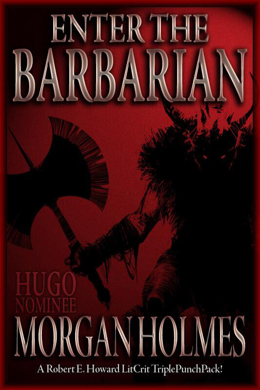 Enter the Barbarian - rejected cover