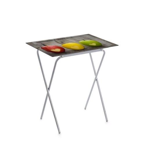 table d appoint pliable avec plateau amovible ada