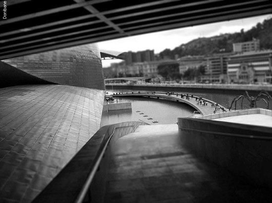 """""""El Guggenheim desde dentro"""" por Donibane"""