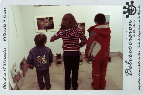 Visitas a Deliriocisión en el Aula de Cultura de Getxo hasta el 4 de Enero.