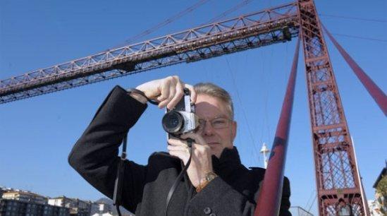 El francés Gilles Bourdoiseau gana el concurso fotográfico del Puente Colgante