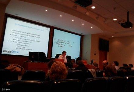 Ponencia en Deustosarelab sobre licencias Creative Commons y mis conclusiones, por Donibane