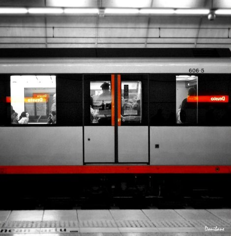 Metro Bilbao by Donibane