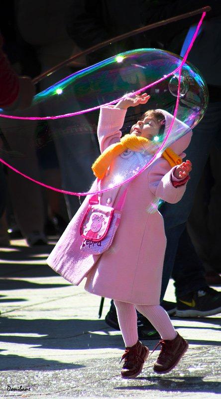 Pompas de colores por Donibane