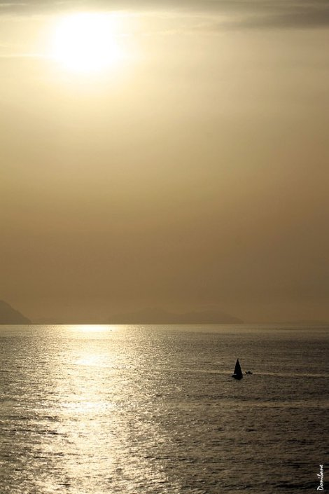 El mar dorado por Donibane