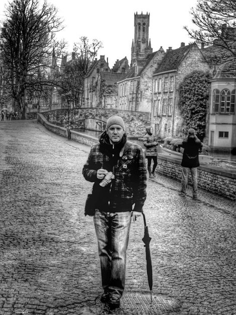 Donibane in Bruges, Belgium The photo was taken by Isabel ;-)